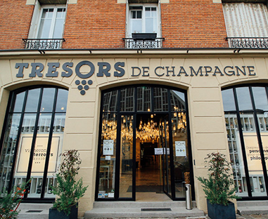 Champagne tasting class in reims